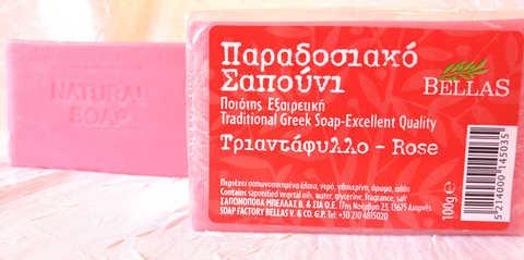 Мыло с розой из Греции Bellas