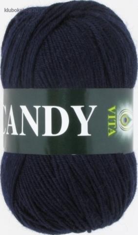 Фото Пряжа Vita: Candy цвет 2502 Темно-синий - купить в интернет-магазине