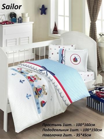 Комплект детского постельного белья SAILOR