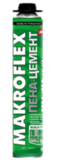 МАКРОФЛЕКС Строительная пена-цемент профессиональная 850мл (16шт/кор)
