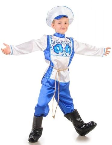Русский народный костюм Гжель 1