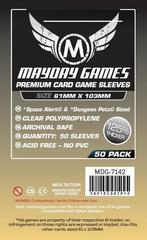 Протекторы для настольных игр Mayday Premium Space Alert / Dungeon Petz (61x103) - 50 штук
