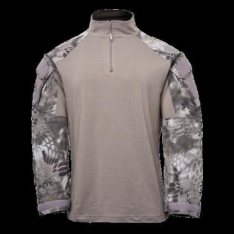 Толстовка KRYPTEK Tactical  молния длинные рукава Dark Charcoal/Raid™