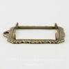 Сеттинг - основа - подвеска для камеи или кабошона 25х18 мм (оксид латуни)