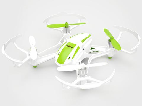 Радиоуправляемый вертолет (квадрокоптер) UDI U843