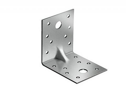 Крепежный уголок оцинк 70х70х55х2,5 усиленный KP4