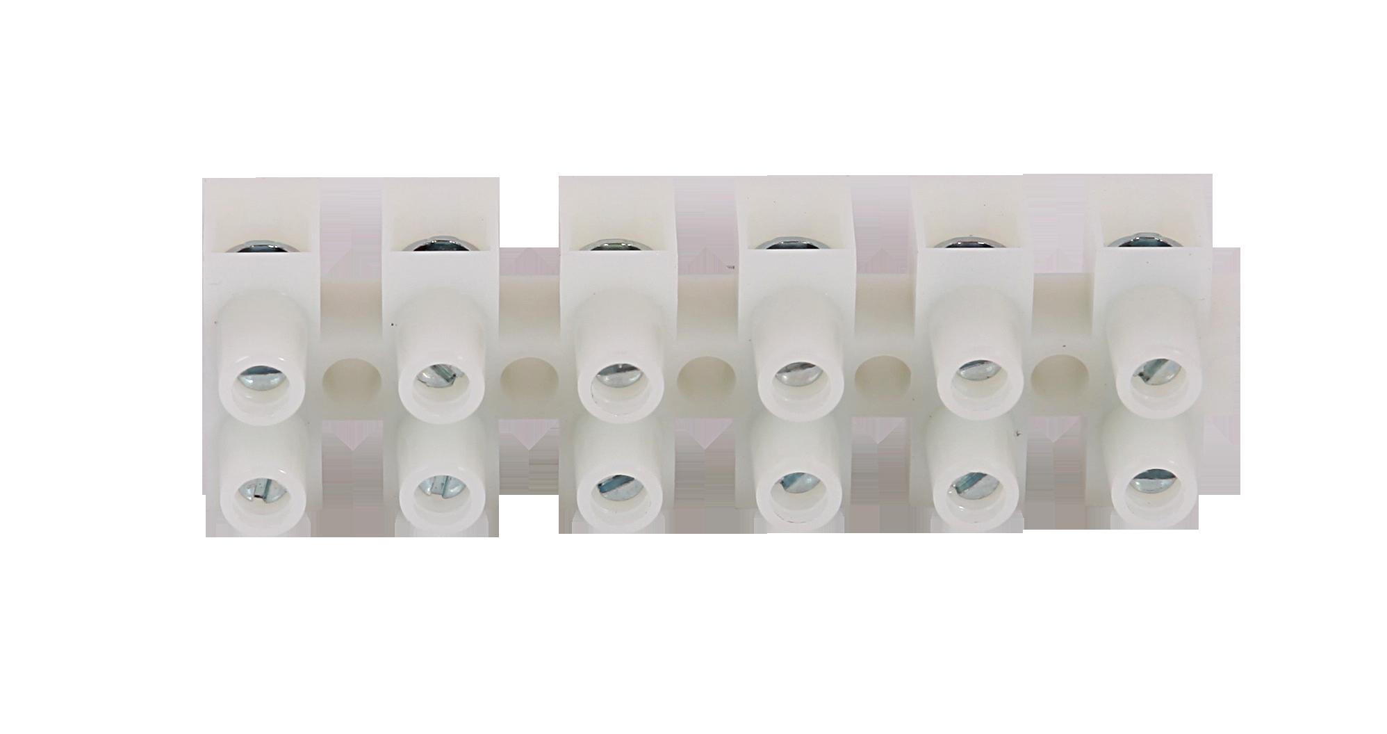 Для парогенераторов: Клеммная колодка SAWO STP-TB6 (6-полюсная белого цвета для печи и парогенератора)