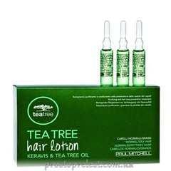 Paul Mitchell Tea Tree Hair Lotion - Лосьон (в ампулах) от выпадения волос с экстрактом чайного дерева