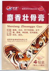 Пластырь тигровый усиленный JS Shexiang Zhuanggu Gao (Китай)