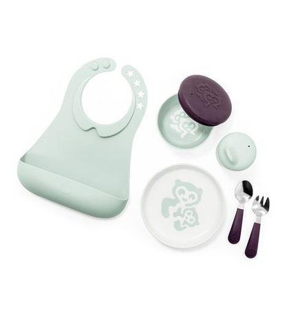 Stokke MUNCH Полный комплект детской посуды
