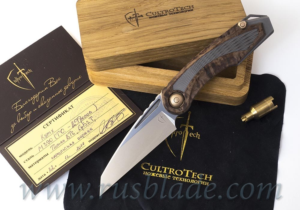 Kutkh Custom Release Prototype knife by CultroTech Knives