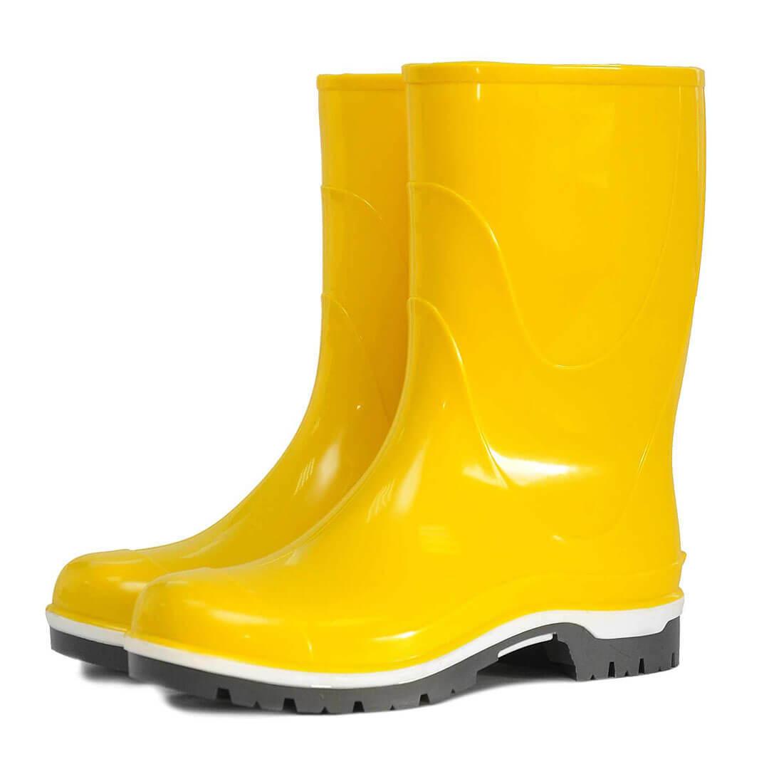 Сапоги Nordman Drop резиновые подростковые желтые