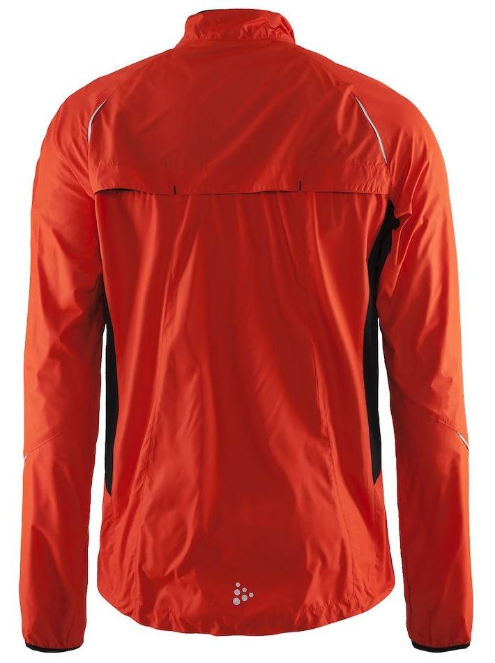 Мужская куртка для бега Craft Prime Run (1902210-2569) оранжевая