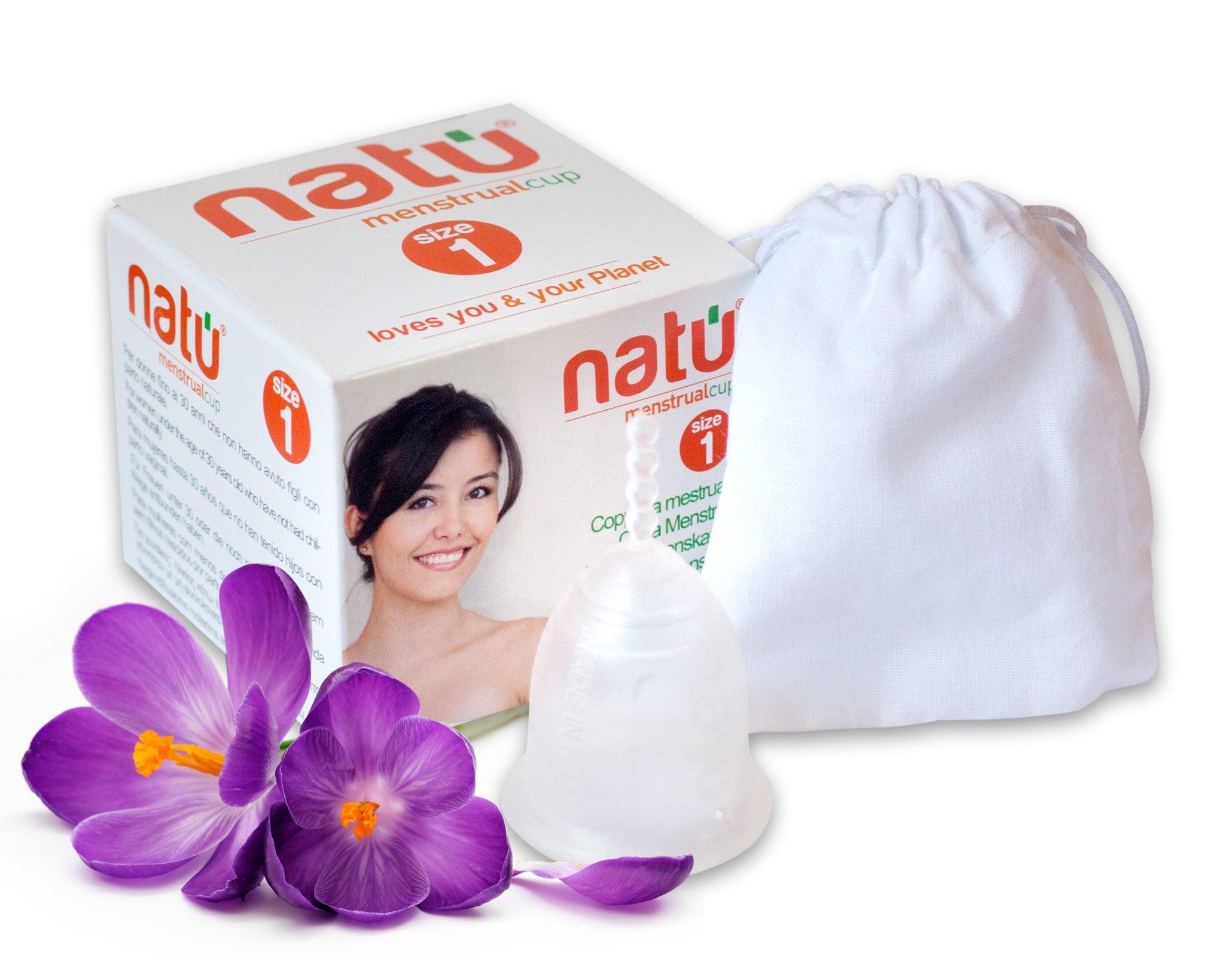 фото менструальной чаши NATU