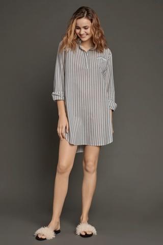 LAETE Туника-рубашка из хлопка 61333