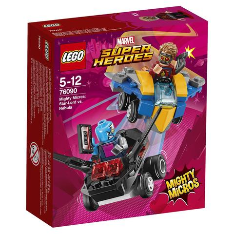 LEGO Super Heroes: Звёздный Лорд против Небулы 76090 — Star-Lord vs. Nebula — Лего Супергерои Марвел
