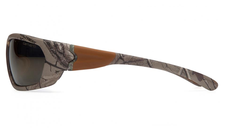 Очки стрелковые Pyramex Carbondale CHRT290D Камуфляж зеркально-серые 15%