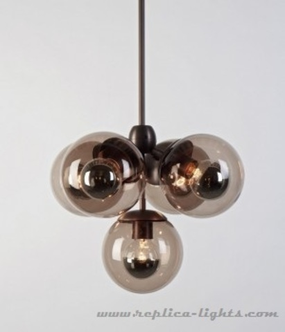replica Modo  by ROLL and HILL  Chandelier - 5 Globes