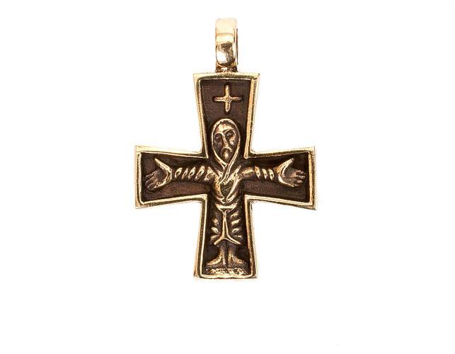 Кельтский стиль Скандинавский крестик кулон RH-871.jpg