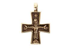 Скандинавский крестик кулон
