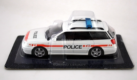 Subaru Legacy Police Switzerland 1:43 DeAgostini World's Police Car #58