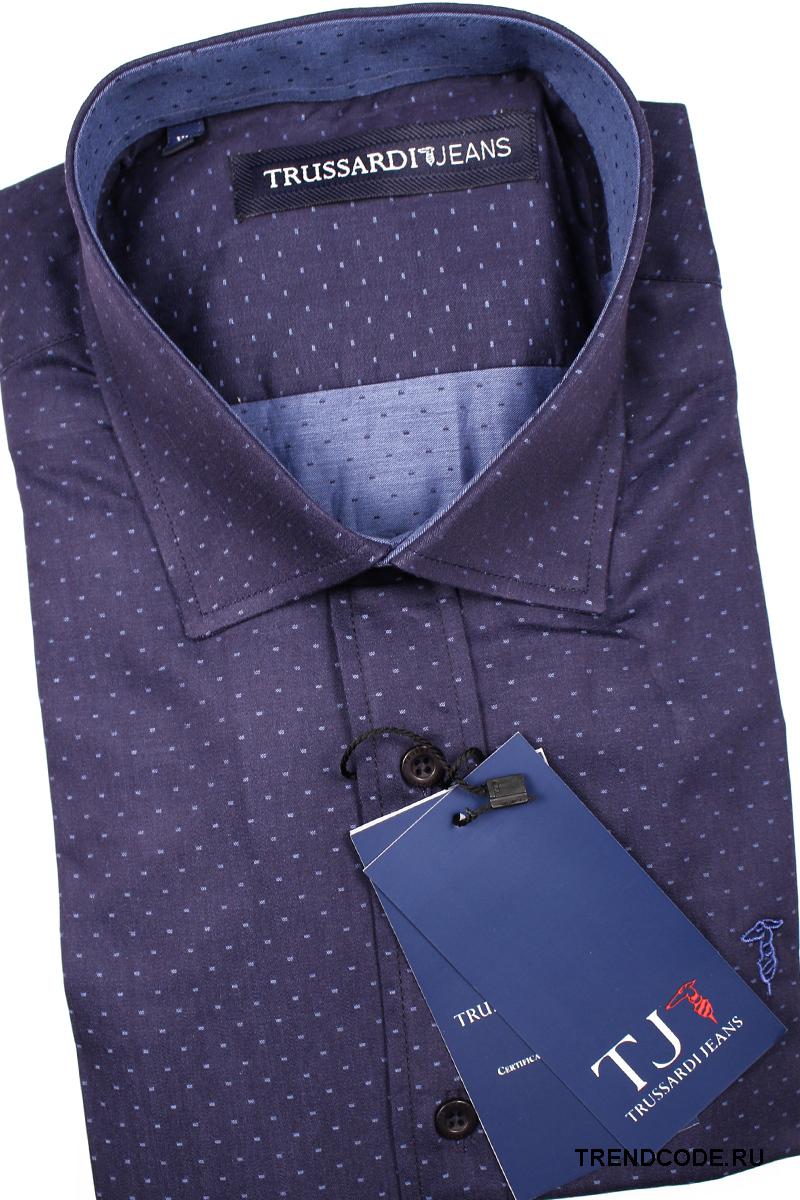 bc563c4c61b Рубашка мужская приталенная (Slim Fit) с длинным рукавом