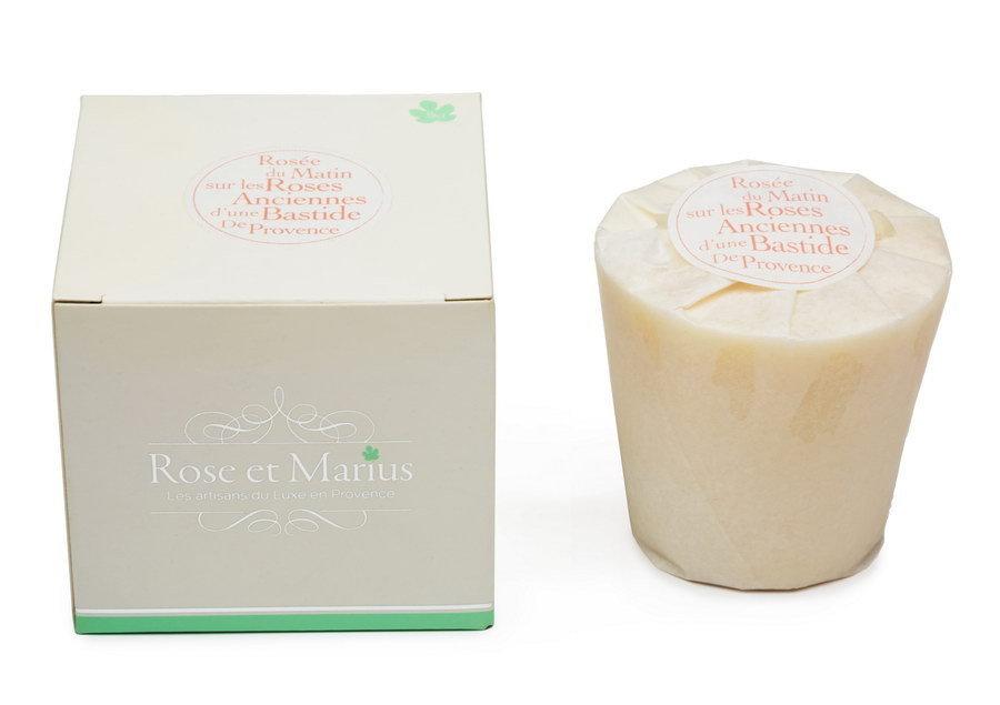 Ароматическая свеча Rose et Marius Кэрри ле Руэ винная роза