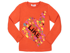 5016-13 джемпер детский, оранжевый