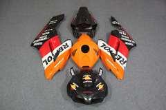 Комплект пластика для мотоцикла Honda CBR 1000RR 04-05 Repsol оранжевый