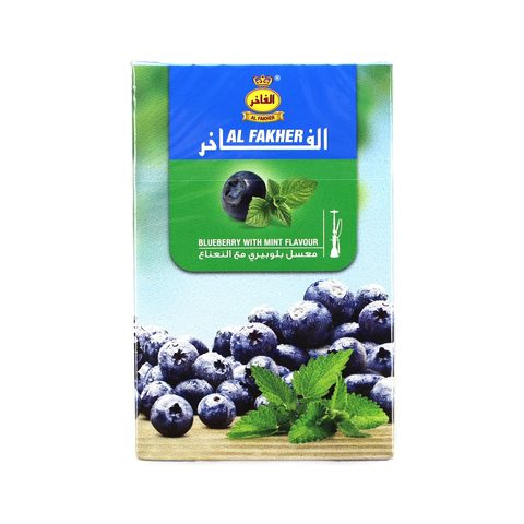 Табак для кальяна Al Fakher Blueberry With Mint Flavour 50 гр.