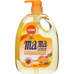 Конц.гель д/мытья пос Mama Lemon Tough on Grease 1000мл антибакт