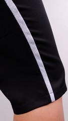 Лето. Стильный костюм плюс сайз. Леопард+черный.