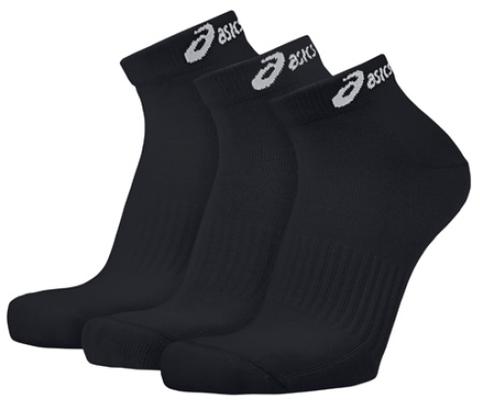 Носки беговые Asics 3PPK Ped Sock (Упаковка 3 пары) черные