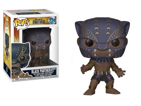 Фигурка Funko POP! Bobble: Marvel: Black Panther: Black Panther Warrior Falls 23130