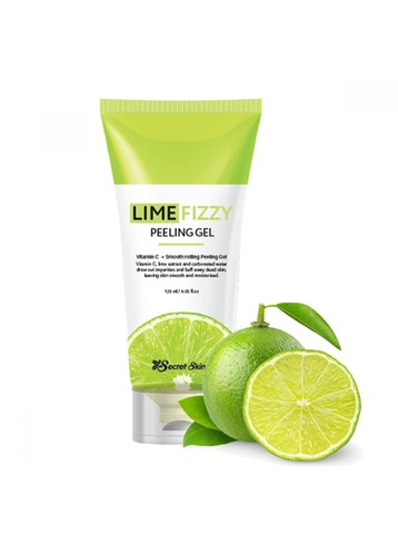 Гель-скатка с экстрактом лайма SECRET SKIN Lime Fizzy Peeling Gel