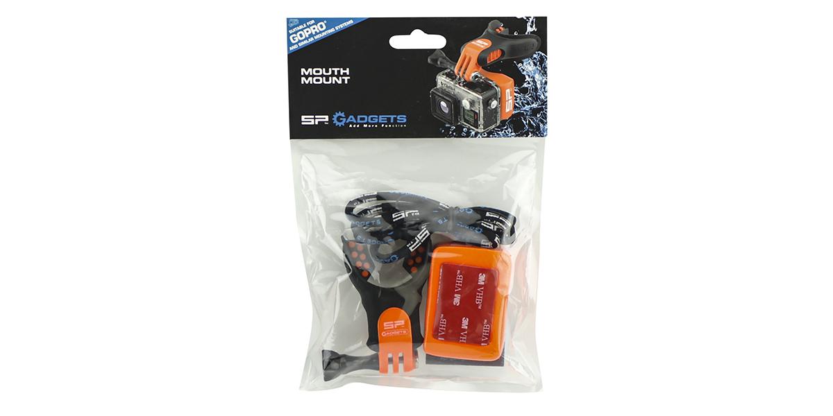 Крепление-капа SP Mouth Mount в упаковке
