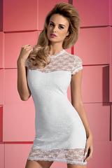 Белая сорочка и стринги Dressita White