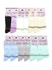 6754 Наташа носки женские 37-41 (12 шт.) цветные
