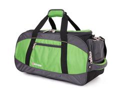 Сумка спортивная WENGER, зелёный/чёрный, полиэстер 1200D, 53х26х24 см, 35 л