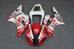 Комплект пластика для мотоцикла Yamaha YZF-R1 00-01 Fiat Красный