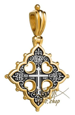 Голгофский крест. Православный крест