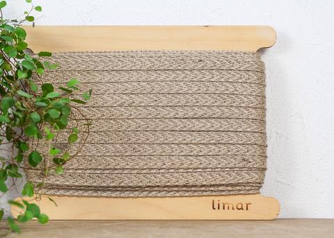 Джутовый плетеный шнур 10 мм
