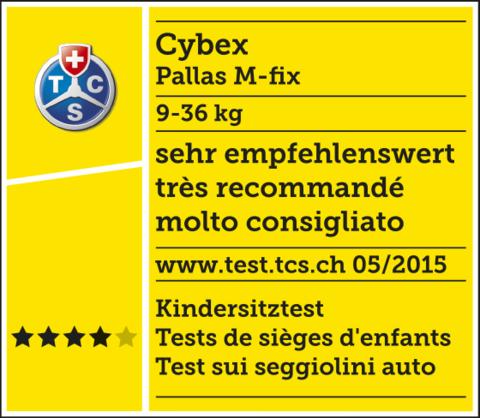 Автокресло Cybex Pallas M-FIX (9-36 кг)
