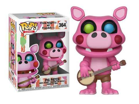 Funko - POP Games: Five Nights At Freddy's 6 Pizza Sim-Pigpatch Brand New In Box