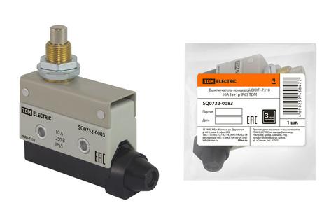 Выключатель концевой ВККП-7310 10А 1з+1р IP65 TDM