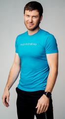 Футболка Nordski Logo Light Blue 2020 мужская