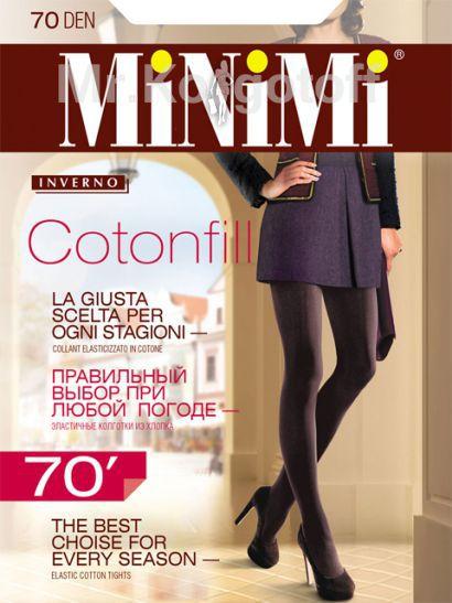 Колготки Minimi Cotonfill 70