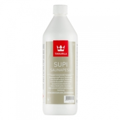 Tikkurila Supi Saunapesu / Тиккурила Супи Саунапесу моющее средство для бани