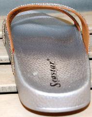 Обувь шлепанцы Seastar T335P Silver.