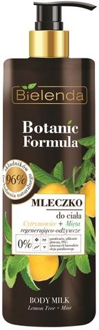 BOTANIC FORMULA Лимон + Мята, молочко для тела, 400 мл